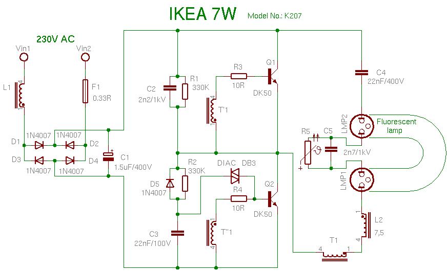 Schema IKEA 7W